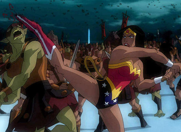 justice league war wonder woman through the years pictures