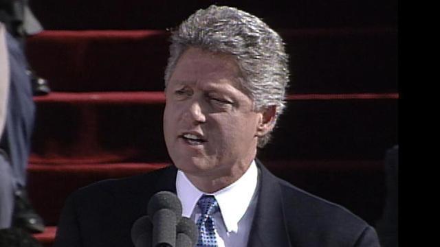 Bill Clinton Inaugural Address Jan 20 1993 Cbs News
