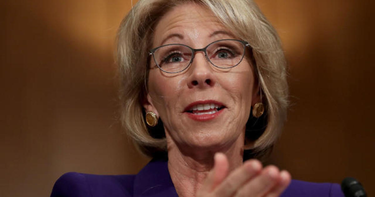 Four Must See Moments From Betsy Devos S Confirmation