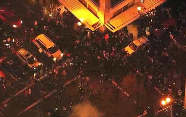 Protests break out in Oregon