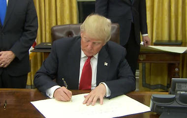 Trump to withdraw U.S. from TPP trade pact