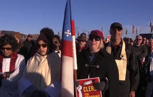 Pipeline protests reignite after Trump's executive action