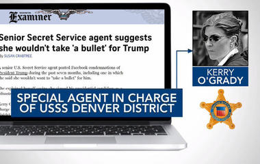 Secret Service agent suggests she wouldn't take bullet for Trump