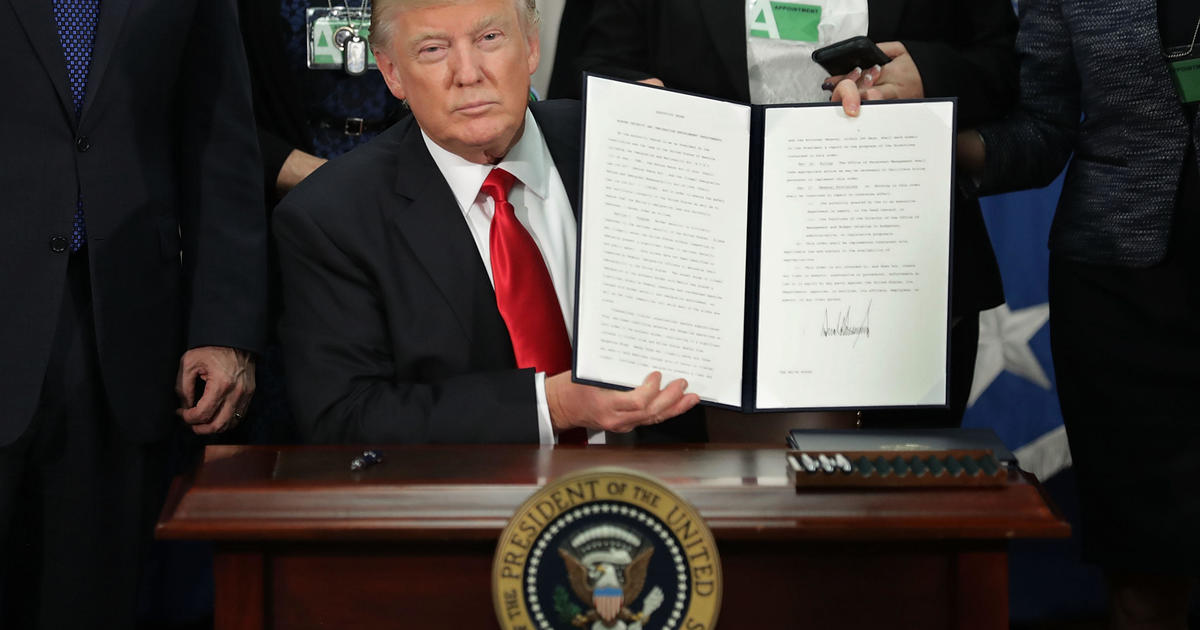 What Are Executive Actions Cbs News