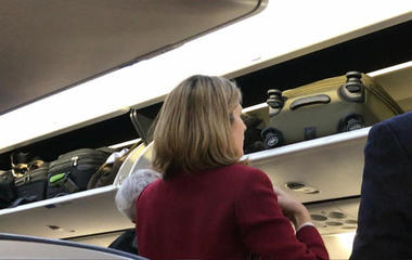 """Forget the overhead bin if you fly """"basic economy"""""""