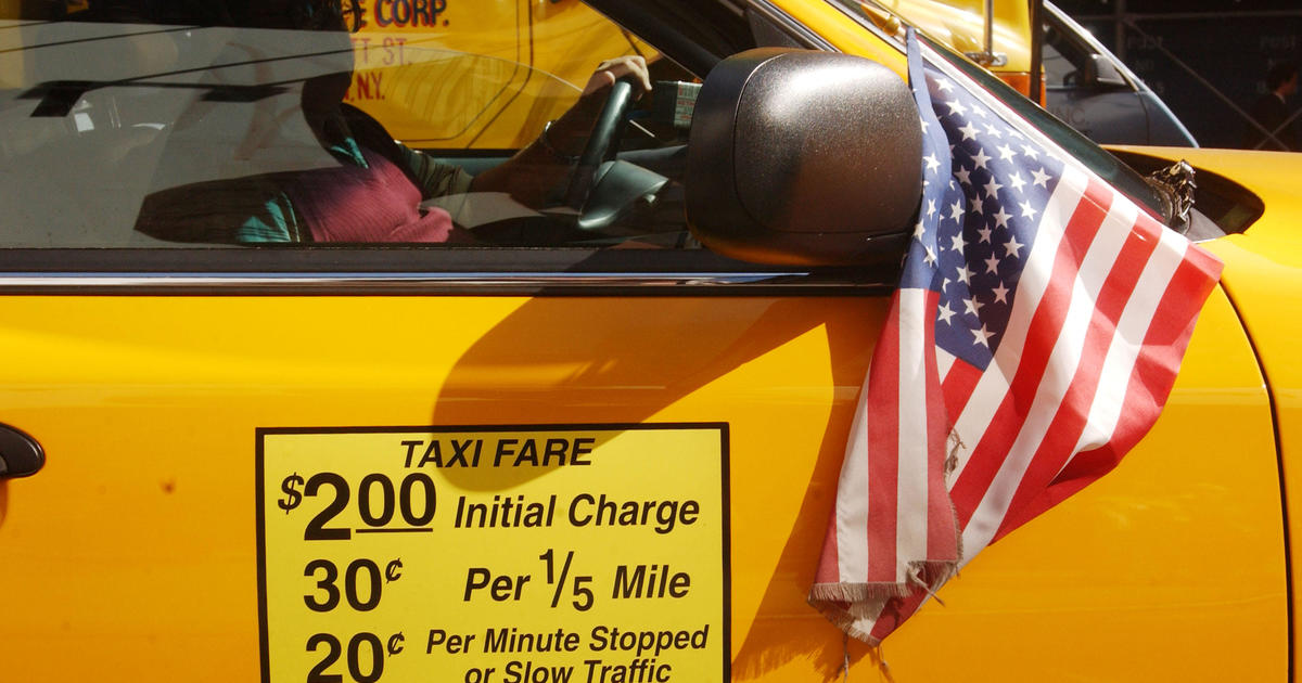 How much is a NYC taxi medallion worth these days? - CBS News