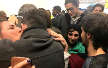 Syrian family, sent back after travel ban, finally reunited in U.S.