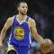 Golden State Warriors guard Stephen Curry (30) brings the ball up the court against the Los Angeles Clippers during the first half at the Staples Center in Los Angeles, California, Feb. 2, 2017.