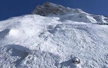 Deadly avalanche in the French Alps