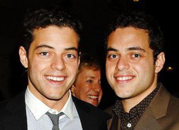 Rami And Sami Malek 19 Celebrities You Didnt Know Were Twins