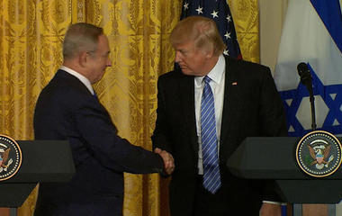 Watch: Pres. Trump and Israeli Prime Minister hold press conference