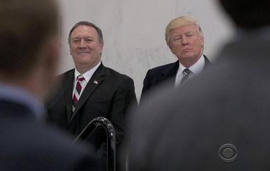 Trump heatedly complains to CIA chief about leaks