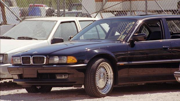 Bmw In Which Tupac Shakur Was Fatally Shot Is For Sale For 1 5m