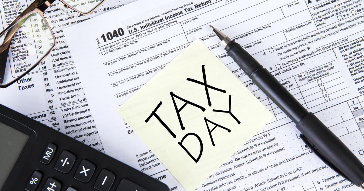 Your Tax Return Isnt Due April 18 Cbs News