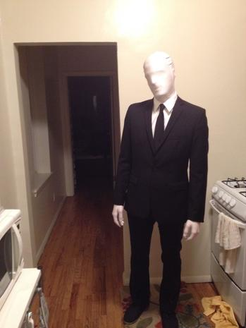 a popular halloween costume the slenderman legend everything you need to know pictures cbs news - Halloween Costume Slender Man