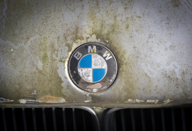 End of the road: Cars being scrapped for metal