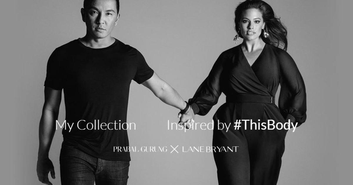Designer Prabal Gurung And Model Candice Huffine On Lane Bryant Plus Size Collaboration Cbs