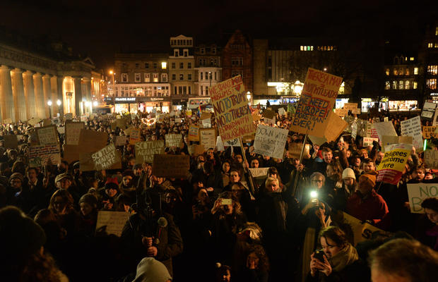 Trump protests around the world
