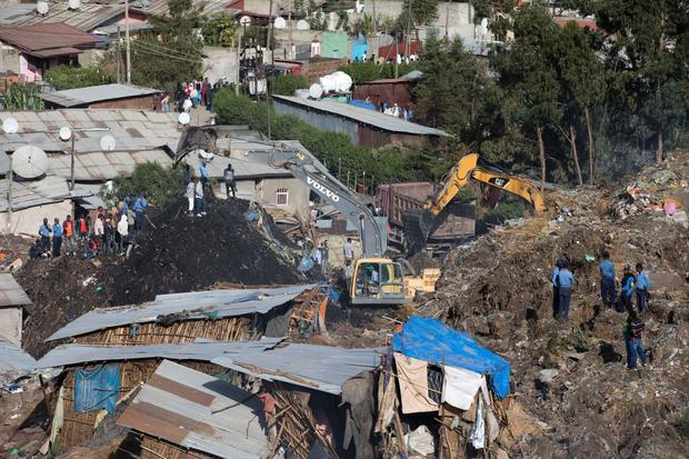 Deadly Ethiopia garbage dump collapse