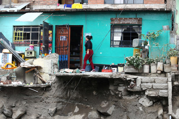Deadly Peru floods and mudslides