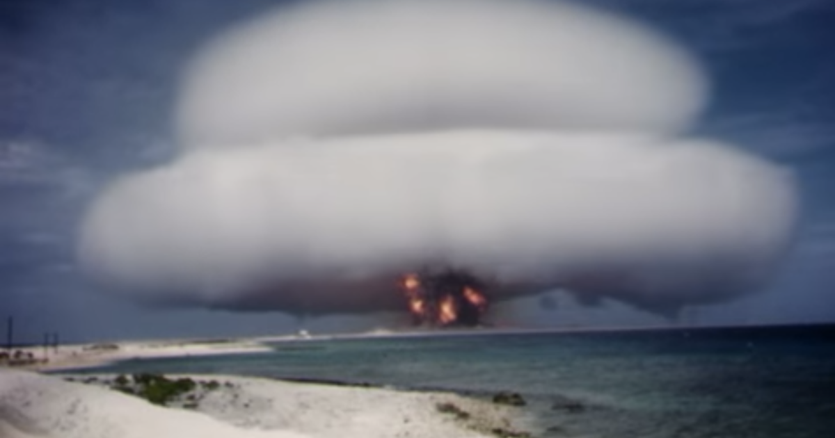 Restored and declassified videos reveal power of Cold War nuclear tests