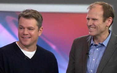 Matt Damon's fight to end the global water crisis