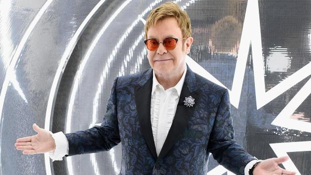 Vintage photos from Sir Elton John's collection