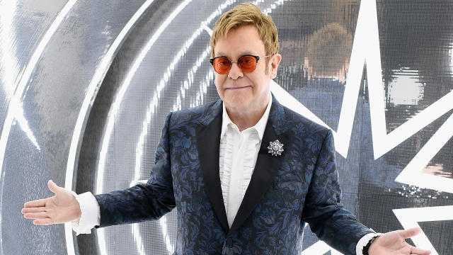 Elton John Farewell Yellow Brick Road Tour - Napier