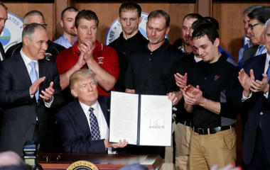 How will Trump's executive order impact the environment?