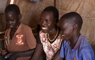 Emotional reunion of family torn apart by war in South Sudan