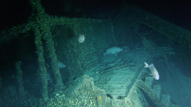 World War II graveyard off the American coast