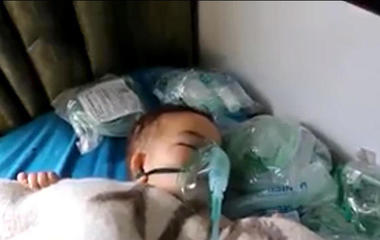 Deadly chemical attack suspected in Syria