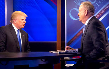 Trump defends Bill O'Reilly amid harassment allegations
