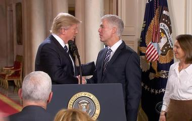 """After contentious fight and """"going nuclear,"""" Senate confirms Gorsuch for Supreme Court"""