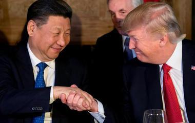 U.S. strikes Syria during China summit