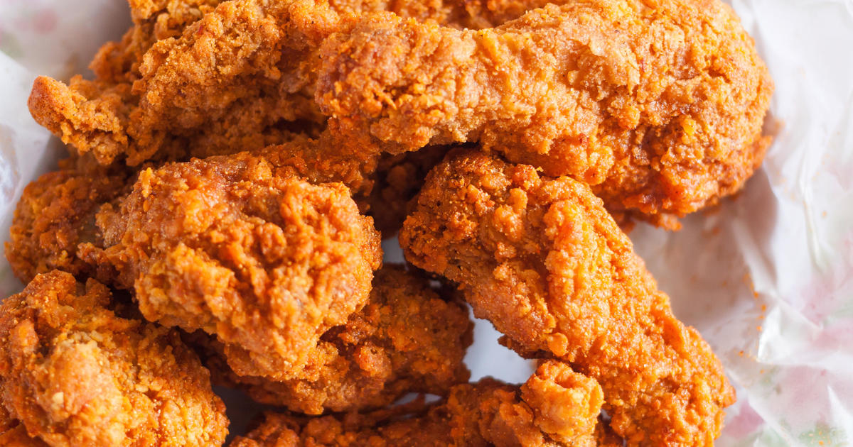 Biggest Fast Food Fried Chicken