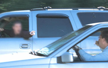 Report: Road rage involving guns on the rise