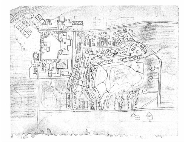 GSK hand drawn map