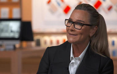 Angela Ahrendts on executive pay, women at Apple