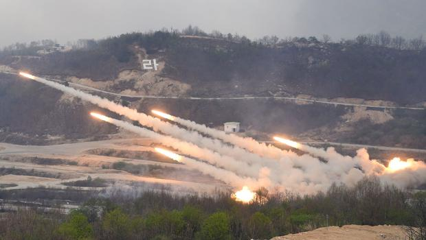U.S. & South Korea conduct live-fire drills amid rising tensions