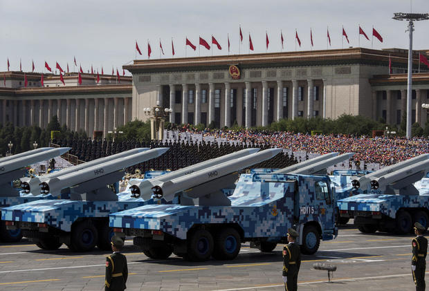 China's newest weapons of war