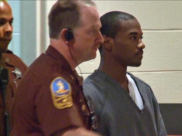 Robert Barnes at his sentencing