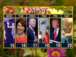 Web exclusive: Calendar: Week of May 15