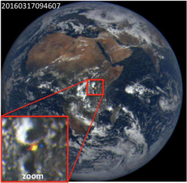Mystery over earths light flashes may be solved cbs news stopboris Gallery