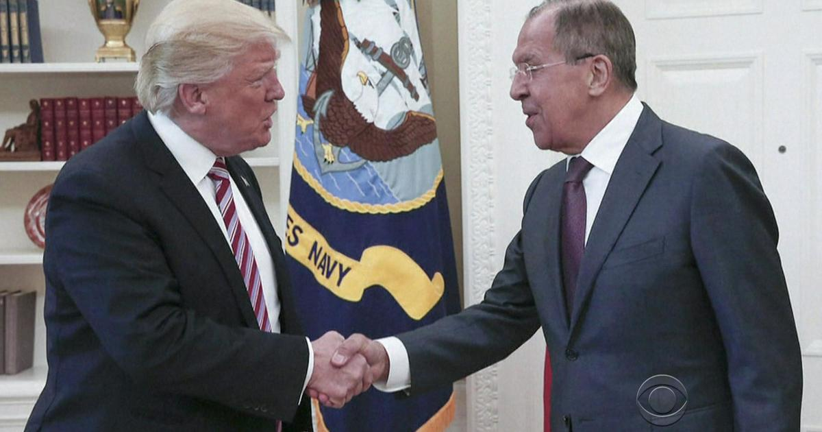 """White House """"working"""" on official visit between Trump and Russia's Lavrov, Robert O'Brien says"""