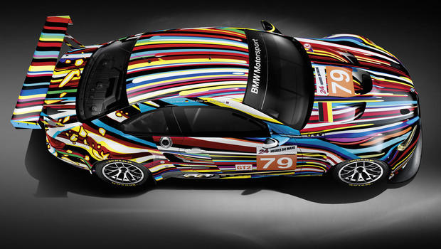 Bmw S Art Cars A Blend Of Art And Speed Cbs News