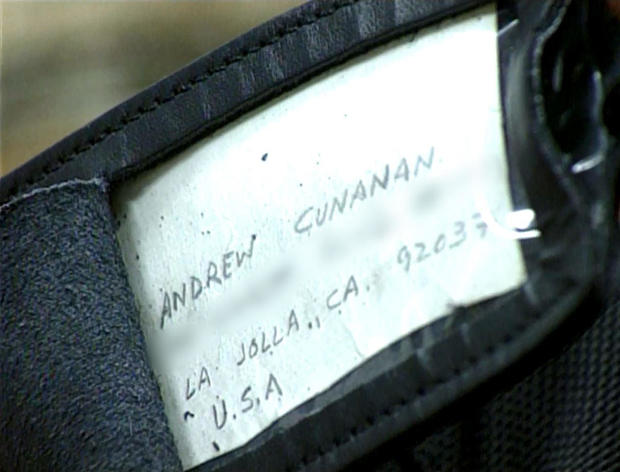 Cunanan's duffle bag