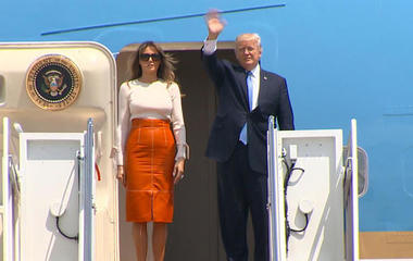 Trump travels to Saudi Arabia amid controversy at home