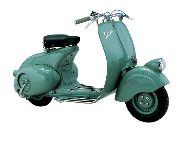 vespa 98 the style of vespa pictures cbs news. Black Bedroom Furniture Sets. Home Design Ideas