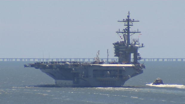 USS Abraham Lincoln Carrier Strike Group and bomber task ...